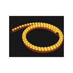 FLEXIBLE LED IP65 JAUNE 1 METRE - 12VCC 8W 0.67A