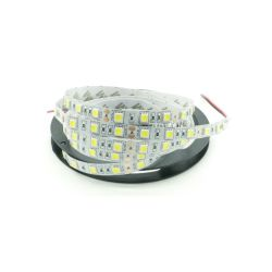 BANDE LED FLEXIBLE 5050 RVB 300 LEDS 5 METRES 12Vcc 37W 3.1A IP65