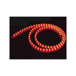 FLEXIBLE LED IP65 ROUGE 1 METRE - 12VCC 8W 0.67A