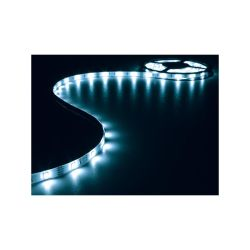 BANDE A LED FLEXIBLE ET ALIMENTATION BLEU 150 LEDS 5M 12Vcc