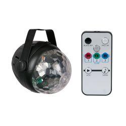 BOULE LED 3X1W BUMPER STARS AVEC TELECOMMANDE SHOWTEC