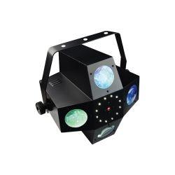 BEAM MOONFLOWER STROBE, LASER MULTIPOINTS POWER LIGHTING