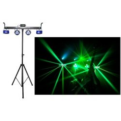 PACK LUMIERE + STAND + PEDALIER CHAUVET