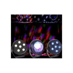 PACK DE 3 EFFETS DE LUMIERE A LED PARTY