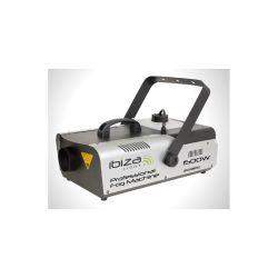 MACHINE A FUMEE 230V 1500W 166m3/min DMX + TELECOMMANDE HF IBIZA