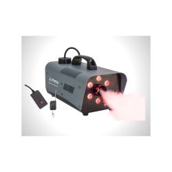 MACHINE A FUMEE AVEC 6 LEDS RVB 230V 1200W 99m3/min PARTY
