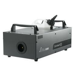 MACHINE A FUMEE DMX 230V 1000W 283 M3 /MINUTE AVEC TELECOMMANDE HF ET TIMER
