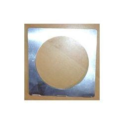 PORTE FILTRE CHROME POUR PAR30 (11,6 x 11,6 cm)