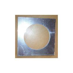 PORTE FILTRE CHROME POUR PAR46C (14,5 x 14,5 cm)