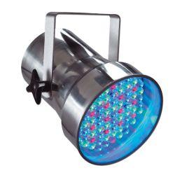 PROJECTEUR PAR 38 A LED RGB 10 mm CHROME CONTEST