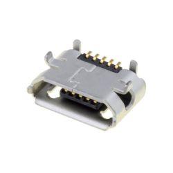 SOCLE MICRO USB B PCB SMT 5 PINS HORIZONTAL DORE 0,65mm (6080)