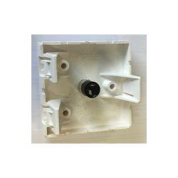 PLASTRON AVEC 1 EMBASE JACK 3.50mm STEREO FEMELLE (80120)