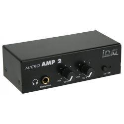 MICRO AMP 2 > AMPLIFICATEUR POUR HAUT-PARLEUR ET CASQUE
