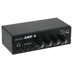MICRO AMP 4 > AMPLIFICATEUR 4 CASQUES