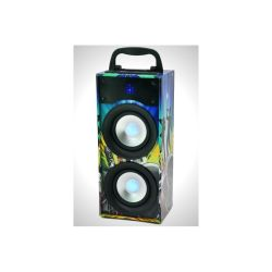 ENCEINTE PORTABLE 20W AVEC USB, MICRO-SD, BLUETOOTH, FM PARTY