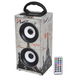 MINI-COLONNE AUTONOME USB/SD/AUX/BLUETOOTH/FM LTC