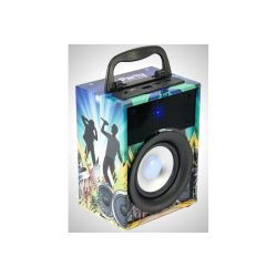 ENCEINTE PORTABLE 10W AVEC USB, MICRO-SD, BLUETOOTH, FM PARTY