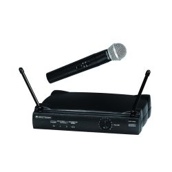 SYSTEME MICROPHONIQUE SANS FIL VHF WIRELESS MIC SYSTEM 179 MHZ OMNITRONIC