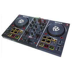 CONTROLEUR DJ 2 VOIES + 8 PADS + CARTE SON NUMARK