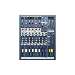 CONSOLE EPM6 SOUNDCRAFT 6 VOIES MONO + 2 STEREO