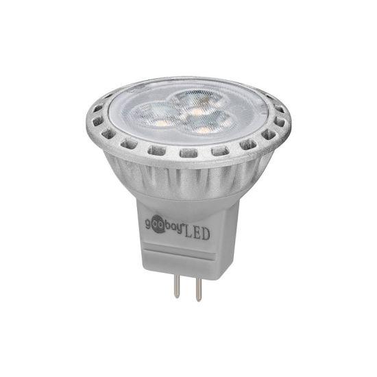 2 Chaud 2800°k Lampe 5w 12v Mr11gu4 Led Blanc 170 Lumens rCBodxe