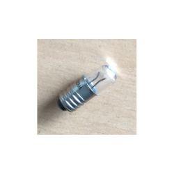 LAMPE E5 2,5V 200mA 0,5W 5X16 AVEC LENTILLE (6080)