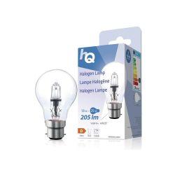 LAMPE HALOGENE GLS CLASSIQUE 230V 18W 205 LUMENS 2800°K B22