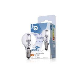 LAMPE HALOGENE BOULE 230V 42W 630 LUMENS 2800°K E14
