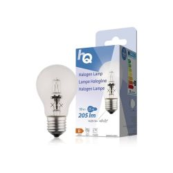 LAMPE HALOGENE GLS CLASSIQUE 230V 18W 205 LUMENS 2800°K E27