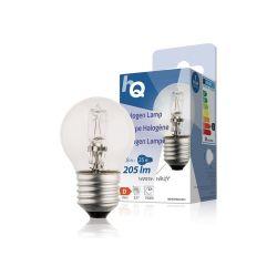 LAMPE HALOGENE BOULE 230V 18W 205 LUMENS 2800°K E27