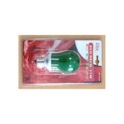 LAMPE 230V 11W FLUO E27 VERTE