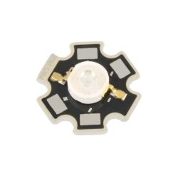 LED DE PUISSANCE STAR 3.6V 700mA 3W BLANC 218.9-284.5 LUMENS 130° (6080)