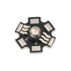 LED DE PUISSANCE STAR 2-3V 350mA 3W RVB 43-85 LUMENS 130° (6080)