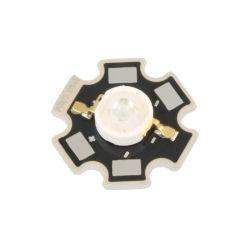 LED DE PUISSANCE STAR 2.2V 700mA 3W ROUGE 99.6 - 113.6 LUMENS 130° (6080)