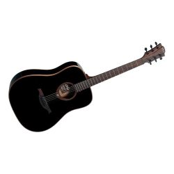 GUITARE LAG DREADNOUGHT NOIRE