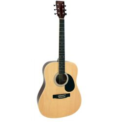 GUITARE FOLK DREADNOUGHT NATUREL ALABAMA