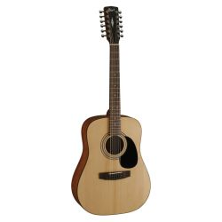 GUITARE CORT DREADNOUGHT NATUREL 12 CORDES