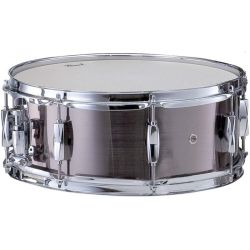 "CAISSE CLAIRE PEARL 14 X 5.5 "" SMOKEY CHROME"