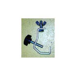 CROCHET POUR TUBE DIAMETRE 16 A 20 mm ACIER ASD (80120)
