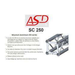 STRUCTURE SC 250 LG DE 1M5