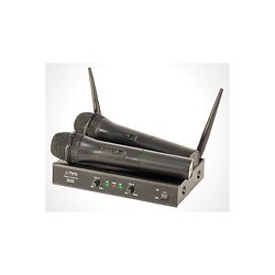 SYSTEME DOUBLE MICROPHONE UHF MAIN 863.1 / 864.8 MHz PARTY