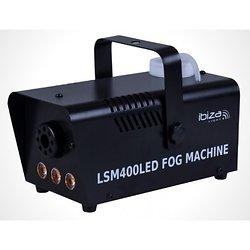 MACHINE A FUMEE 230V 400W 14m3/min + 3 LEDS 3W JAUNE IBIZA