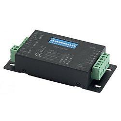 CONTROLEUR DMX DE RUBANS 4 CANAUX 12~24VDC 4 x 2,5A MAX CONTEST