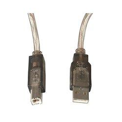 CORDON USB 2.0 A MALE - B MALE 1.80 METRE DUNE