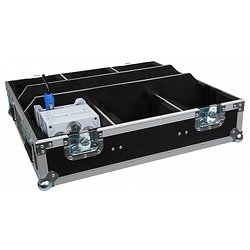 FLIGHT CASE POUR 6 X BT-AKKULITE-IP BRITEQ JV CASE