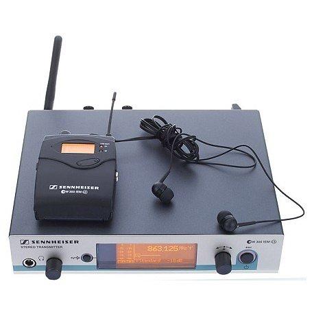 ENSEMBLE EAR MONITOR 2 RECEPTEURS FREQUENCE A (516 - 558 MHz) MHZ