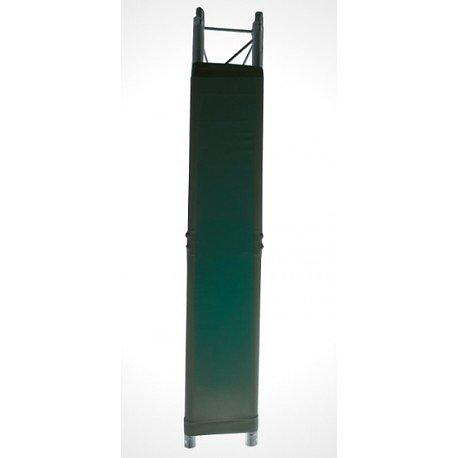 HOUSSE DE TOTEM EN LYCRA (TRIANGLE) NOIR 30X30X100mm IBIZA