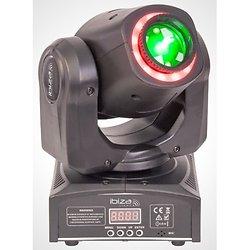 LYRE 'SPOT ET ANIMATION' 2-EN-1 A LED AVEC CONTROLE DMX IBIZA