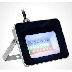 PROJECTEUR HAUTE PUISSANCE A LED 230V 20W RVB AVEC TELECOMMANDE IP65 AFX