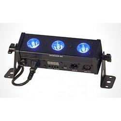 BARRE A 3 LED RGBW 4-EN-1 AVEC TELECOMMANDE & DMX IBIZA